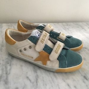 Golden Goose Old School Superstar velcro sneakers